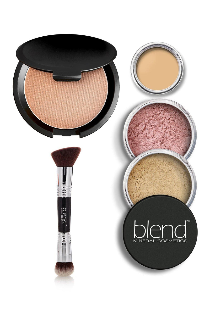 Luminizer Glowing Complexion Kit - Fair - Blend Mineral Cosmetics