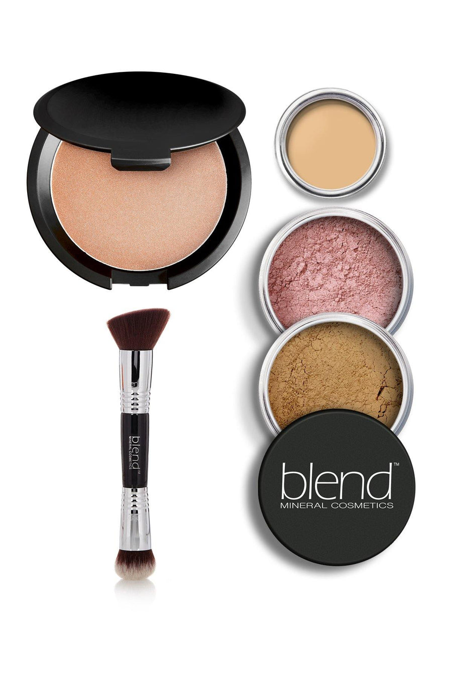 Luminizer Glowing Complexion Kit - Dark