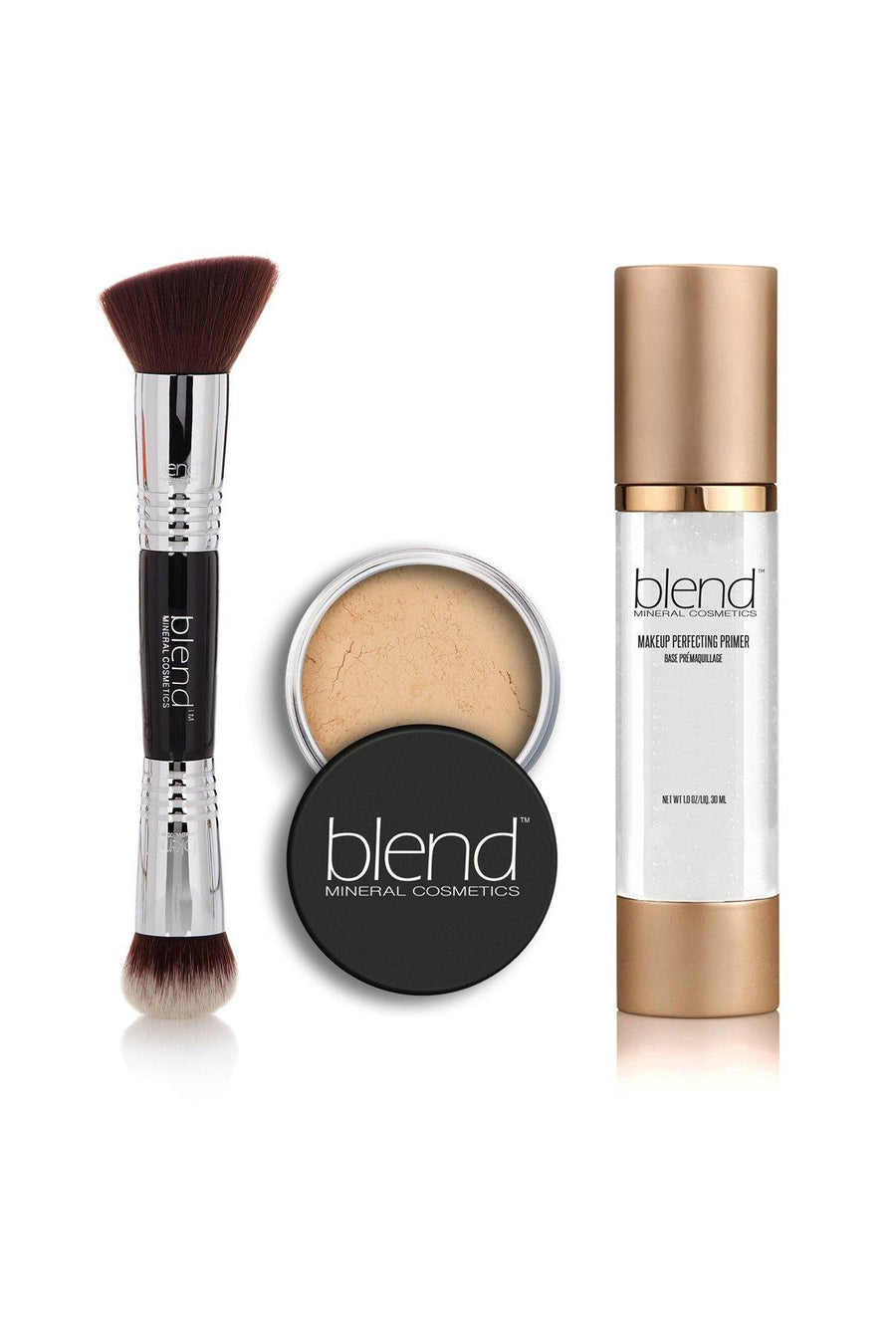 Perfect Set - Natural Beige - Blend Mineral Cosmetics