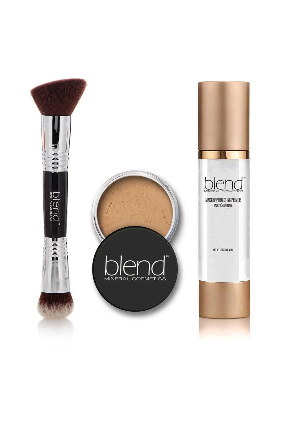 Perfect Set - Honey - Blend Mineral Cosmetics