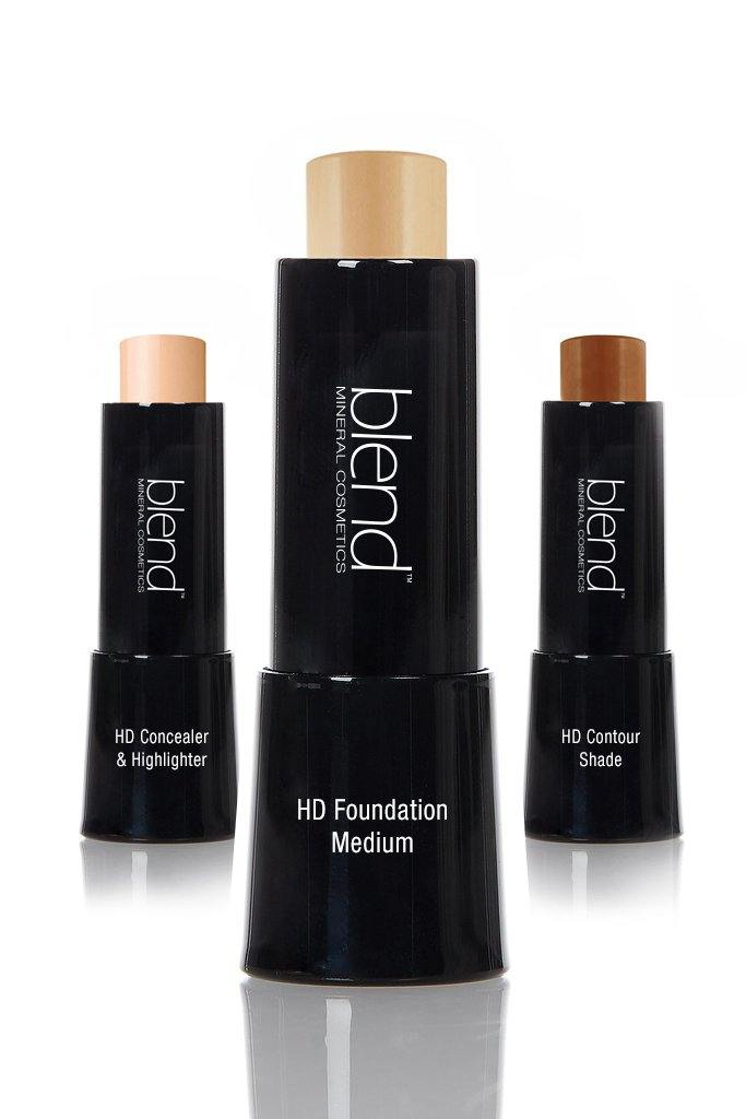 Medium Light HD Stick Set - Blend Mineral Cosmetics