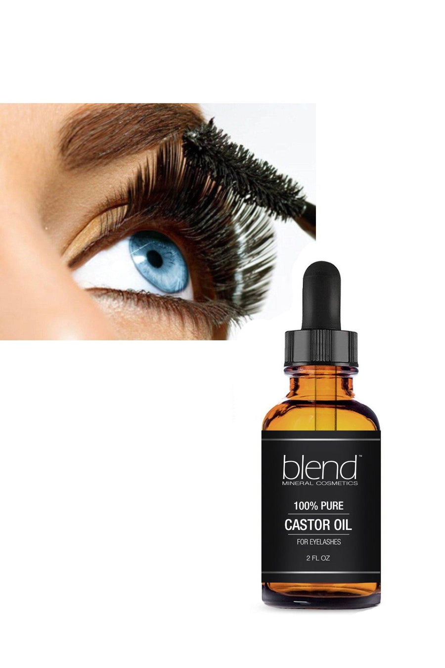 Eyelash Pure Castor Oil - Blend Mineral Cosmetics