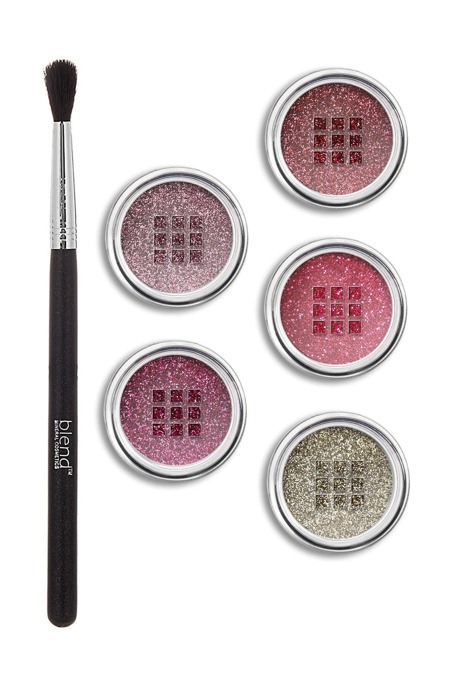 Rose Glitter Bundle - Blend Mineral Cosmetics