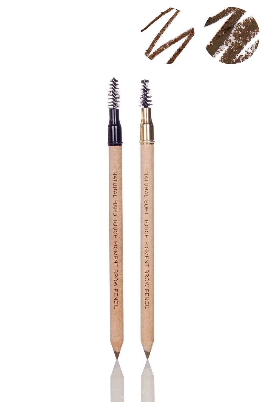 Universal Brow Definer Set of Soft Touch & Hard Touch Universal Formula Professional Eyebrow Pencil - Blend Mineral Cosmetics