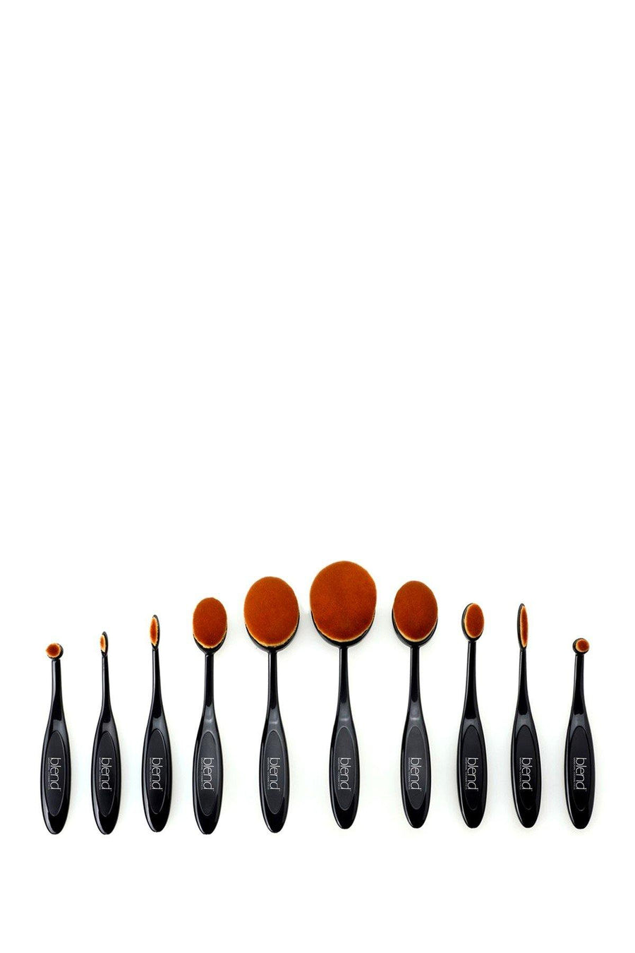 WOW Artist 10-Piece Brush Set - Blend Mineral Cosmetics