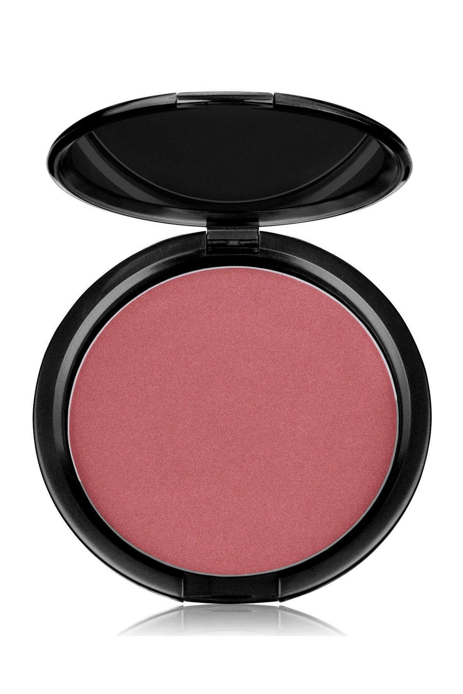 Blush Mineral Pressed Powder & Brush Set - Pink Tone - Blend Mineral Cosmetics