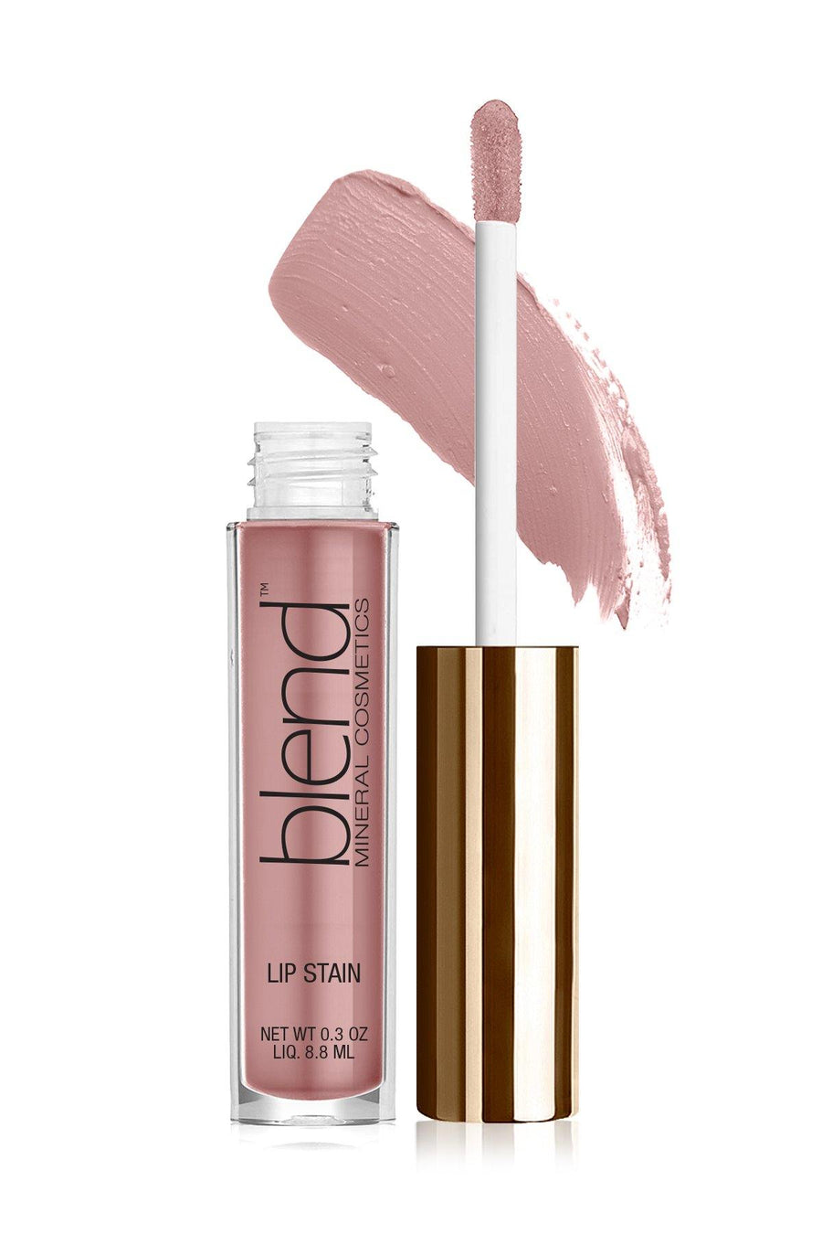 Lip Stain 5 - Pink Snow - Blend Mineral Cosmetics