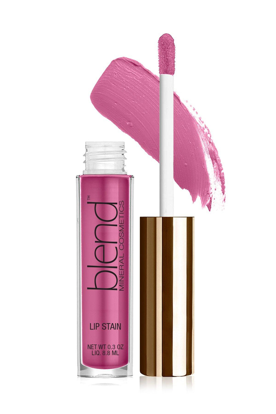 Lip Stain 8 - Thulian Pink - Blend Mineral Cosmetics