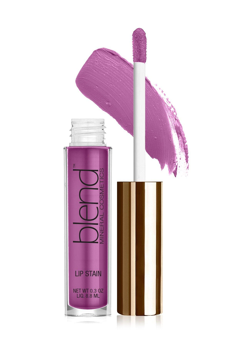 Lip Stain 10 - Sugar Violet - Blend Mineral Cosmetics