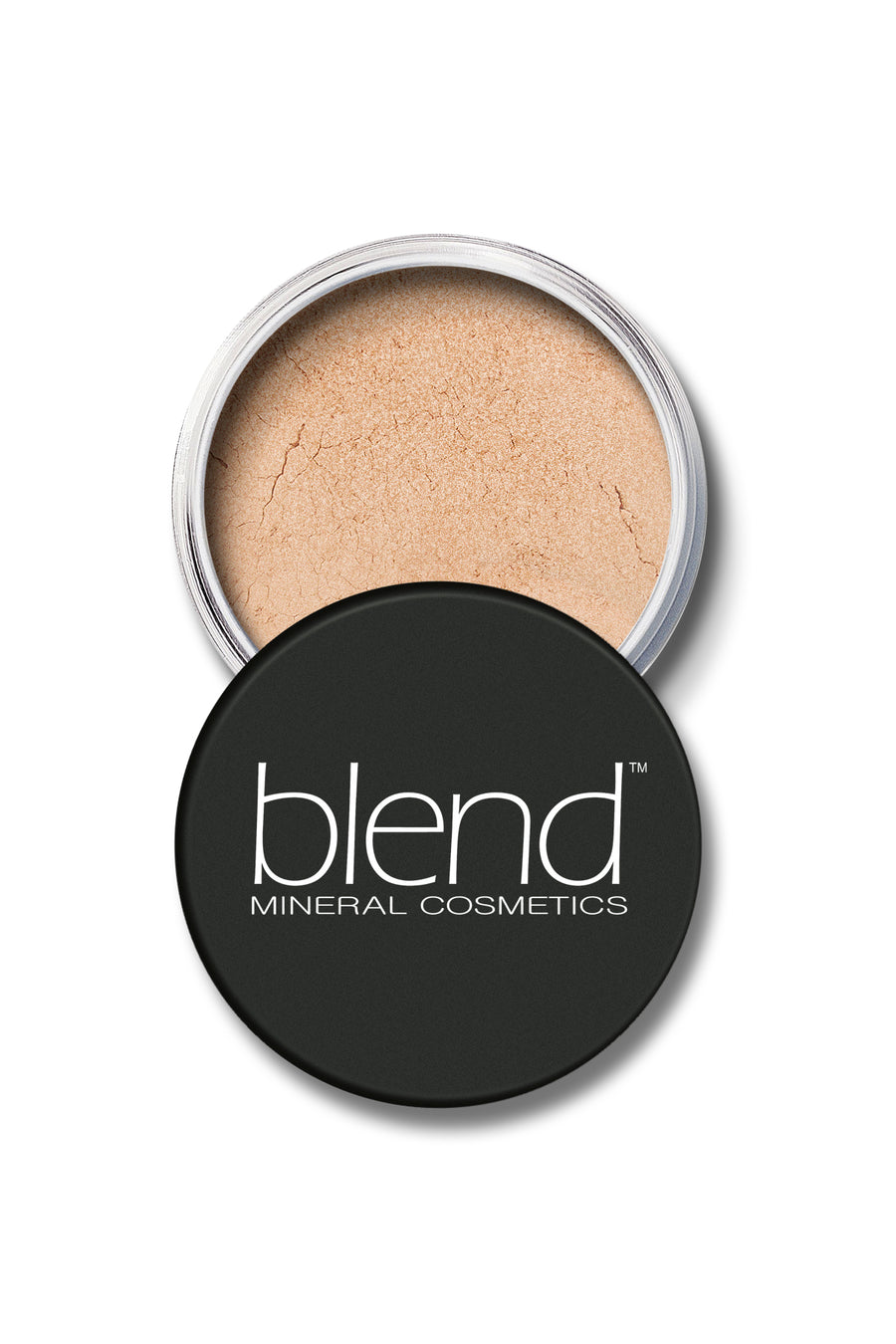 Shimmer Mineral SPF 15 Foundation #4 - Natural Beige - Blend Mineral Cosmetics