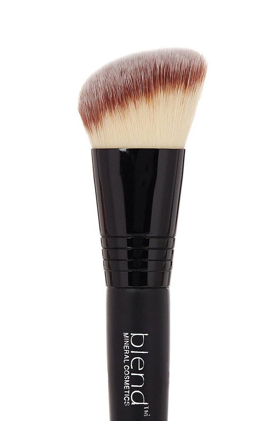 Angle Double Ended Brush - Mixed Brown - Blend Mineral Cosmetics