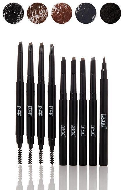 100% Match Brow Pencil 8-Piece Set - Blend Mineral Cosmetics