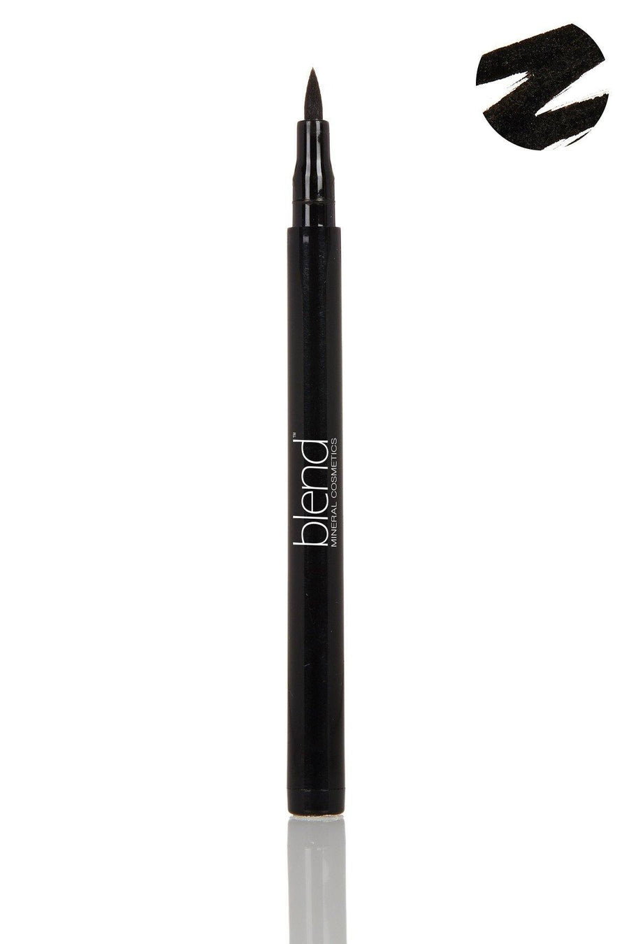 Liquid Eyeliner Pencil - Black - Blend Mineral Cosmetics