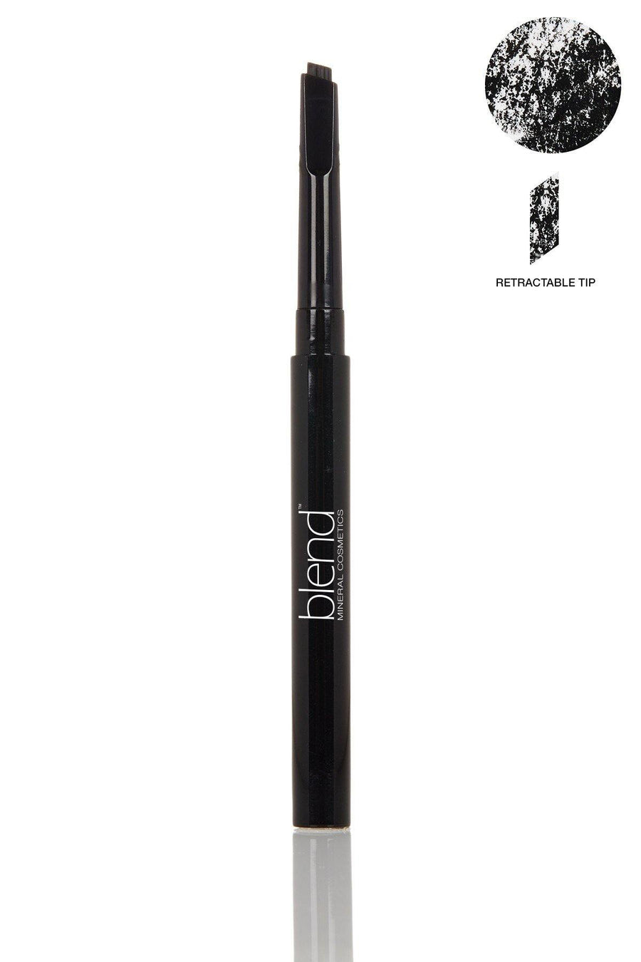 Defined Long-Wear Brow Pencil - Universal Dark - Blend Mineral Cosmetics