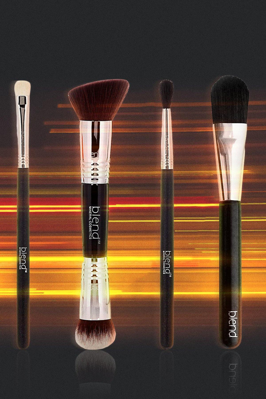 Fast & Furious Brush Bundle - Blend Mineral Cosmetics