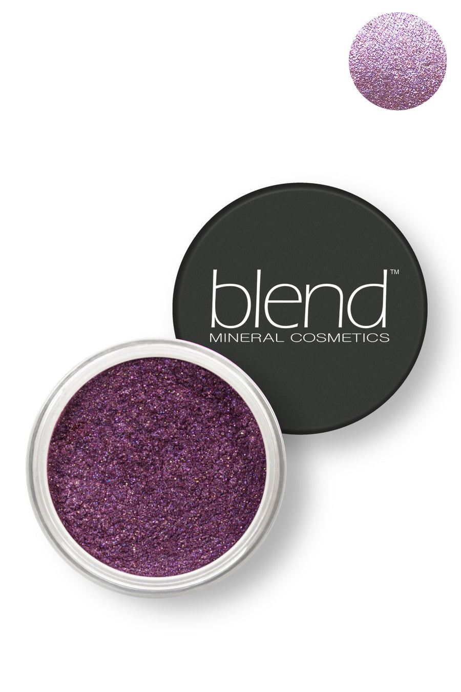 Pure Pigment Eyeshadow - Magic Violet - Blend Mineral Cosmetics