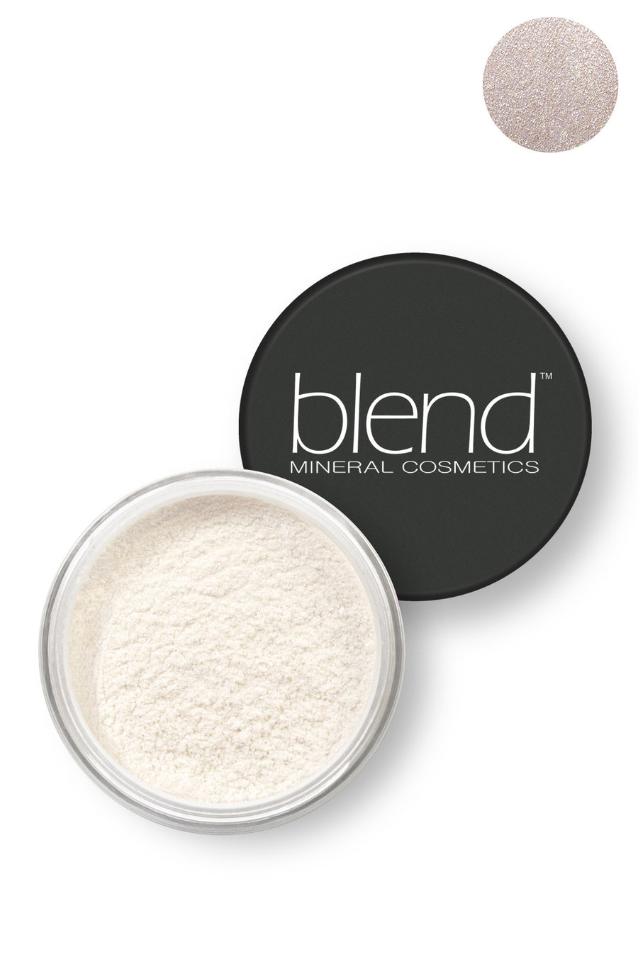 Pure Pigment Eyeshadow - Satin White - Blend Mineral Cosmetics