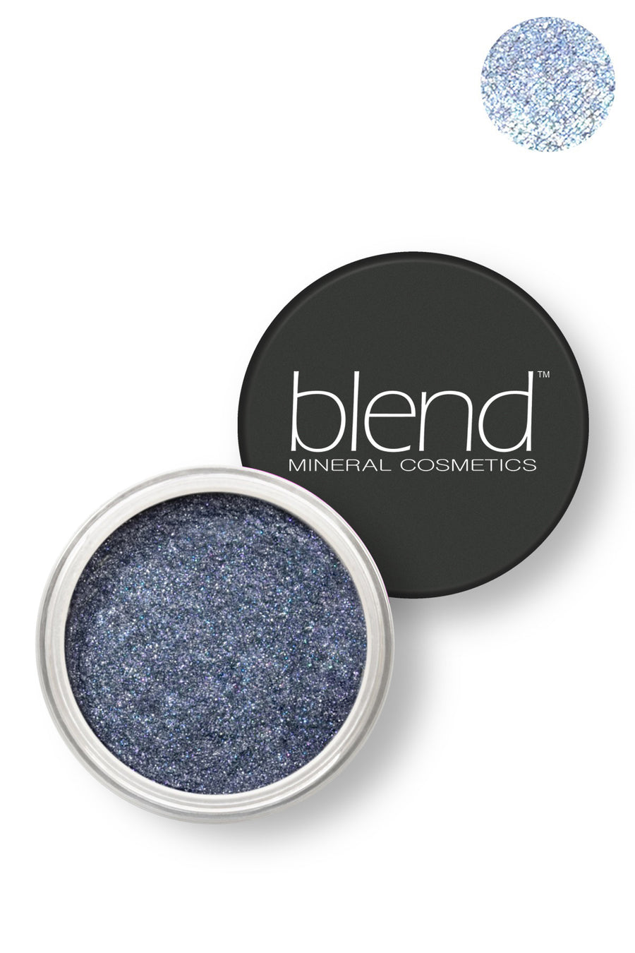 Pure Pigment Eyeshadow - Titan Blue - Blend Mineral Cosmetics