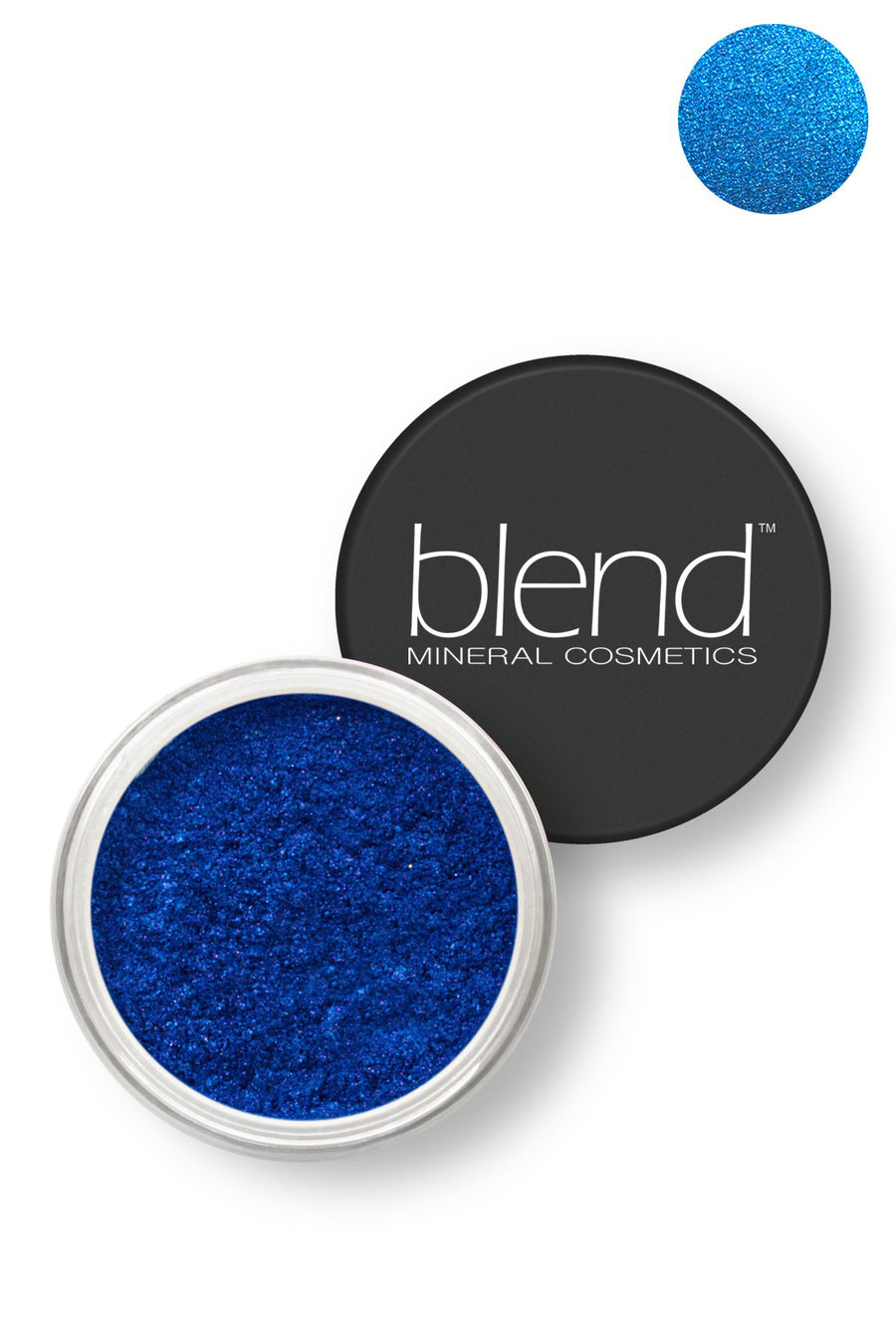 Pure Pigment Eyeshadow - Ultramine Blue - Blend Mineral Cosmetics