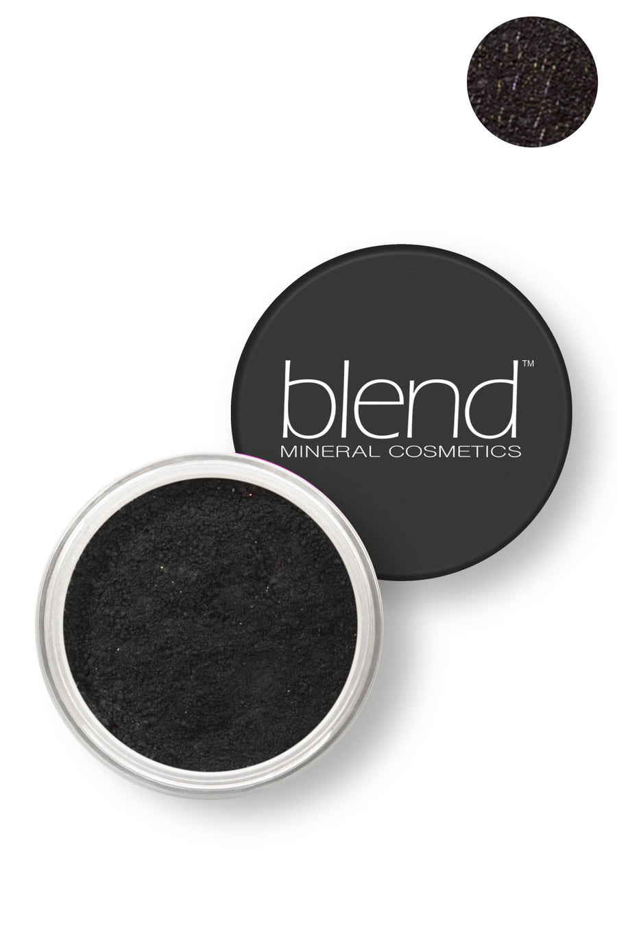 Pure Pigment Eyeshadow - Black - Blend Mineral Cosmetics