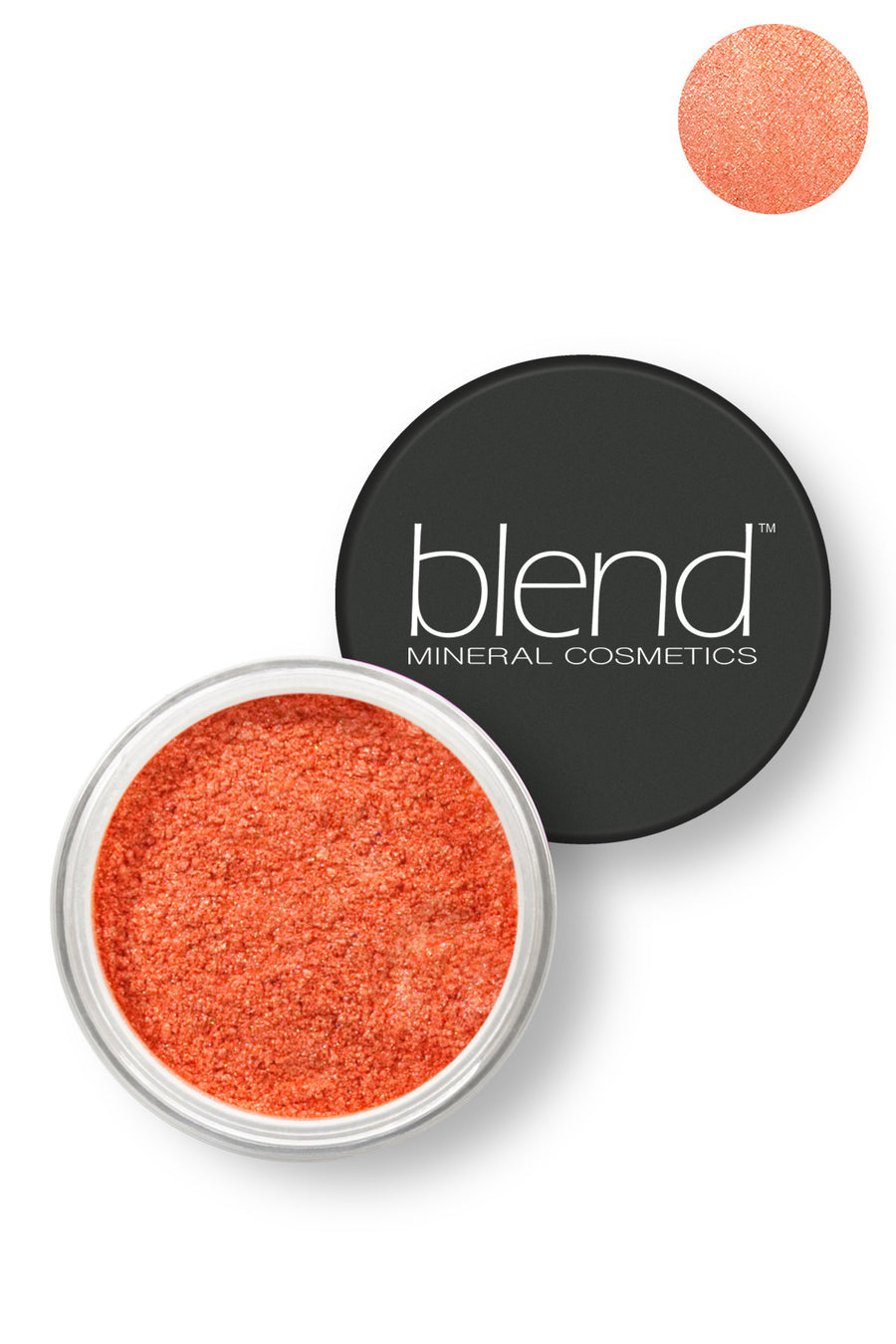 Pure Pigment Eyeshadow - Orange - Blend Mineral Cosmetics