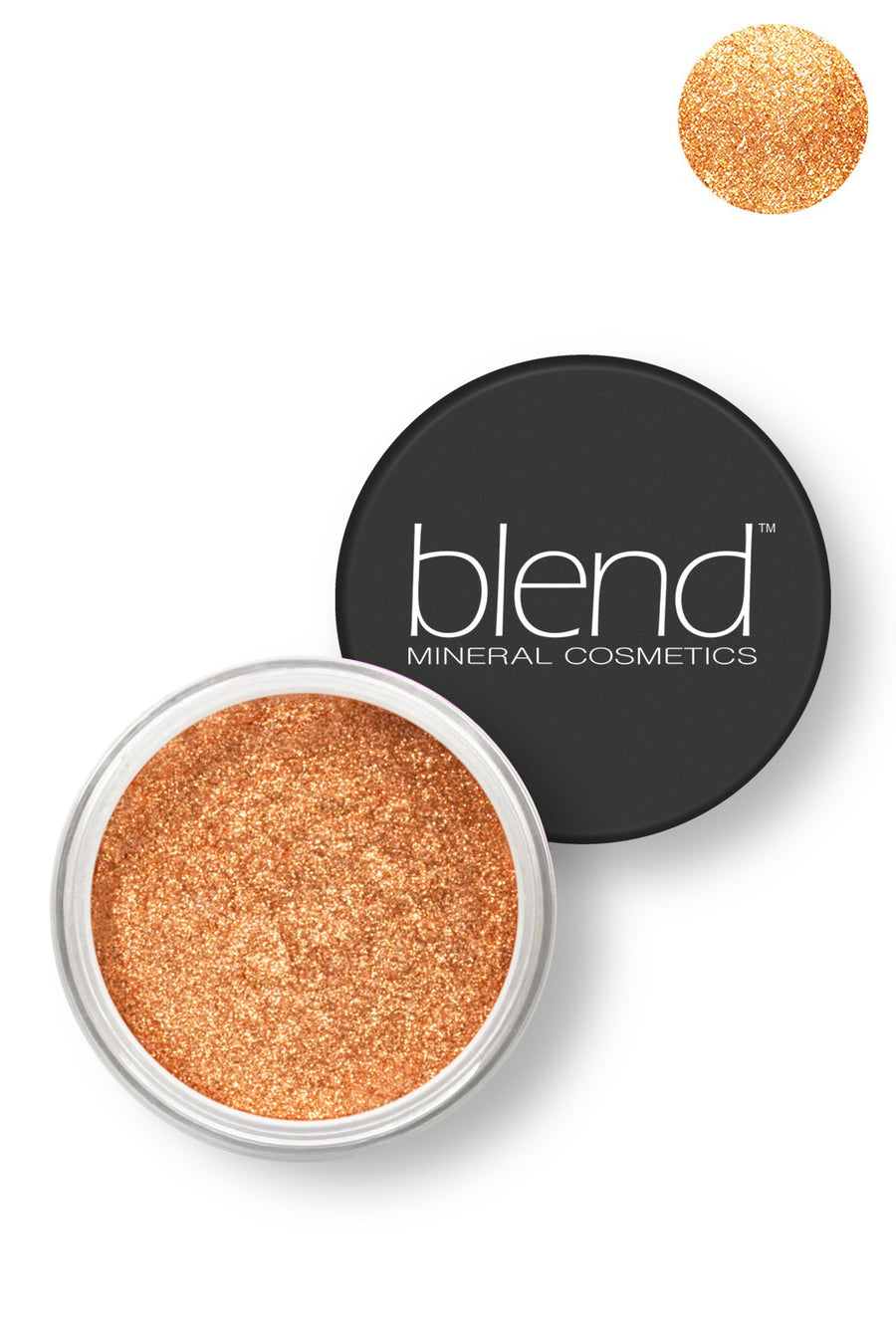 Pure Pigment Eyeshadow - Rose Gold - Blend Mineral Cosmetics