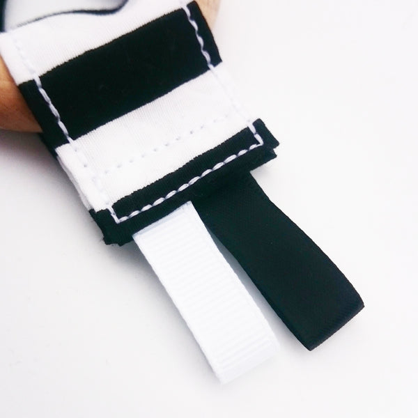 Monochrome Stripe Tag Toy