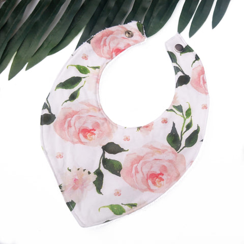 Garden Rose Dribble Bib