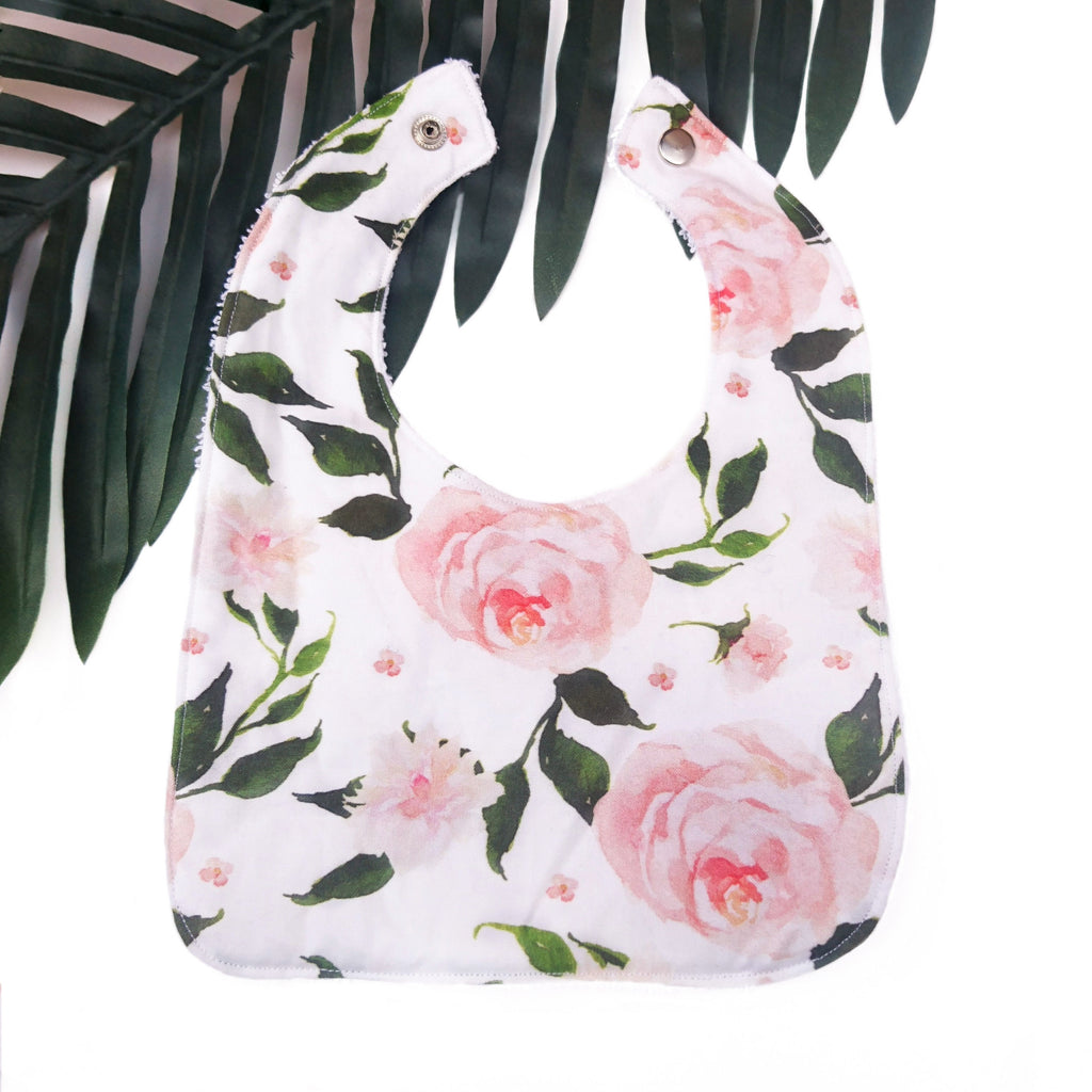 Garden Rose Large Bib