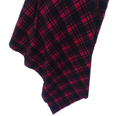 Lumberjack Swaddle Wrap Blanket