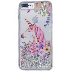 Unicorn | Beautiful Glitter Protection Case for iPhone 7/8 iPhone 7/8plus iPhone X/ S9/S9 Plus
