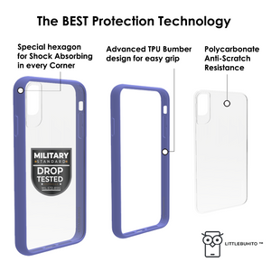 New iPhone Protection  LittleBuhito ™ Strong Series (Lila)