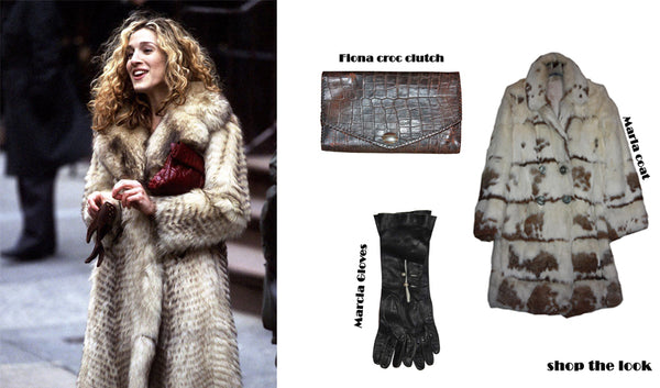 Get Carrie Bradshaw's look with vintage clothes
