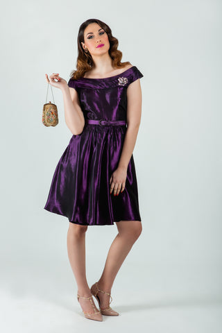 Shop vintage taffeta 50's dress online - SoLovesVintage