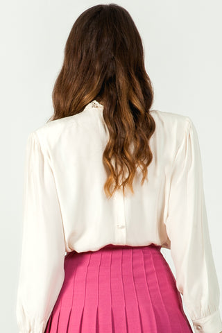 Shop unique vintage silk blouse online - SoLovesVintage