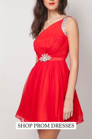 Shop vintage short red prom dresses online - SoLovesVintage