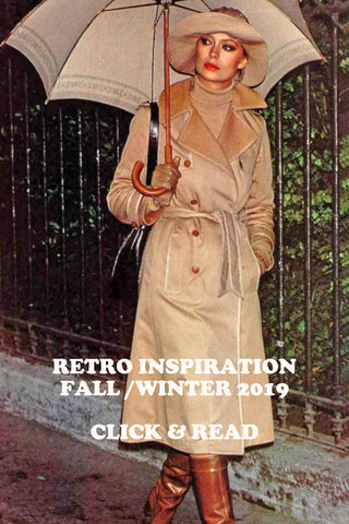 70's vintage inspired trends for fall 2019