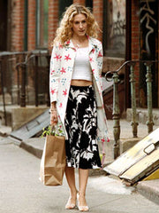 Carrie Bradshaw style in Sex and the City
