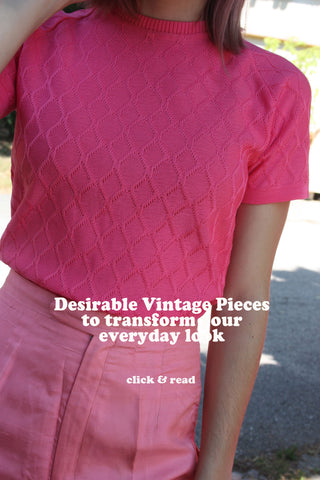 Summer pink outfits - Shop SoLovesVintage