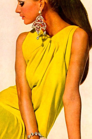 Yellow Neon 80's trend now online - Read at SoLovesVintage