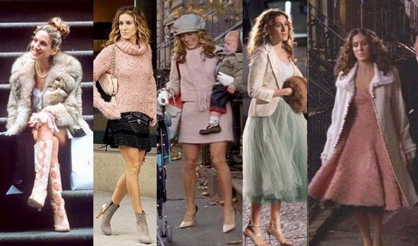 Carrie Bradshaw winter outfits and how to wear them