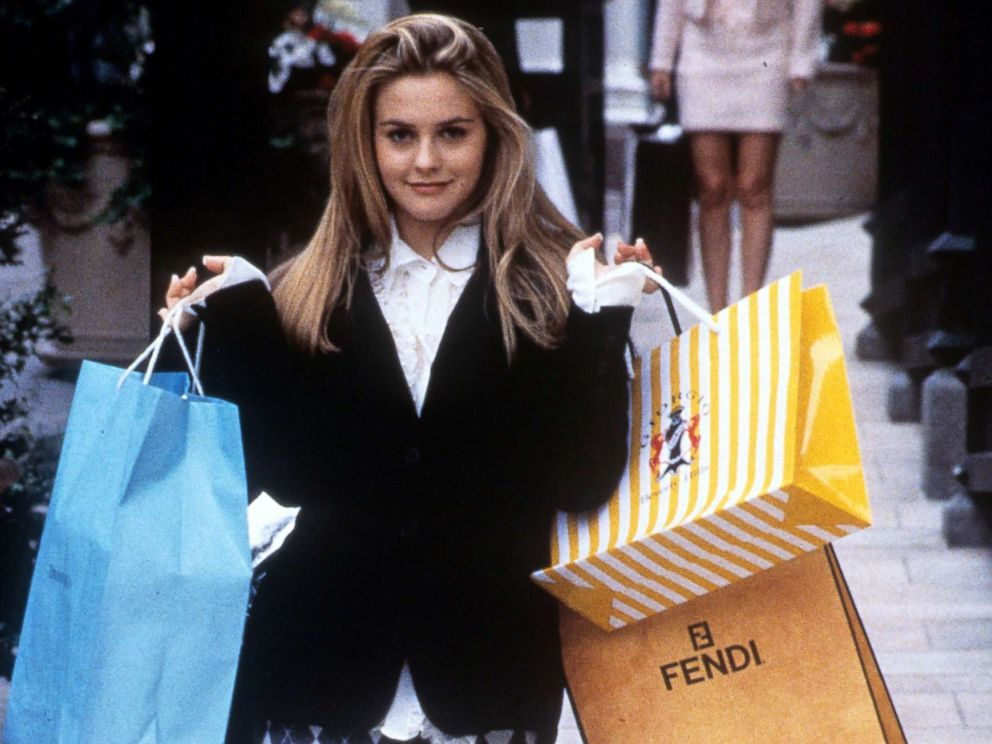 Clueless movie shopping trip