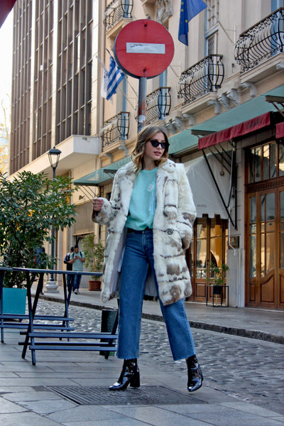 How to wear a vintage fur now - SoLovesVintage