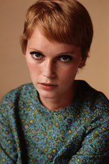 Mia farrow in her short haircut