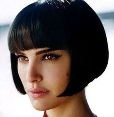 Natalie Portman in a short bob