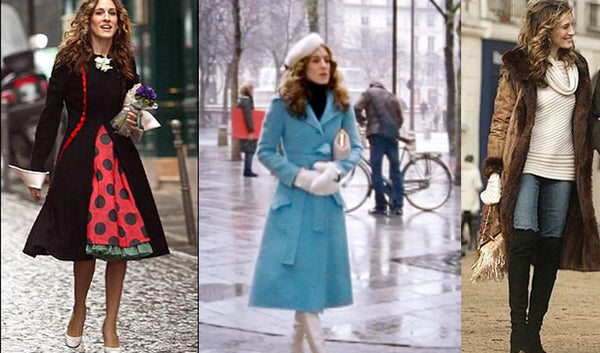 Carrie Bradshaw winter outfits