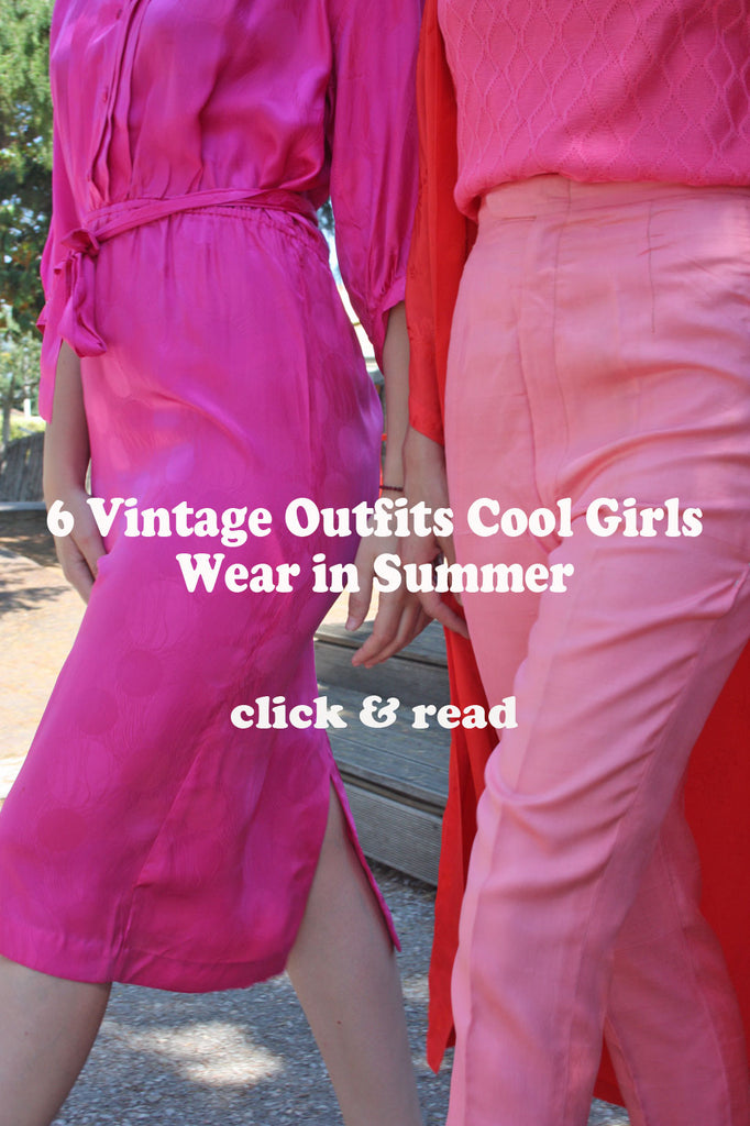 6 Vintage retro outfits cool girls wear all summer - Read SoLovesVintage