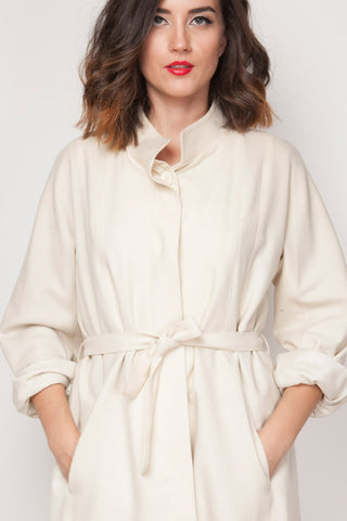 Shop white vintage coat from SoLovesvintage
