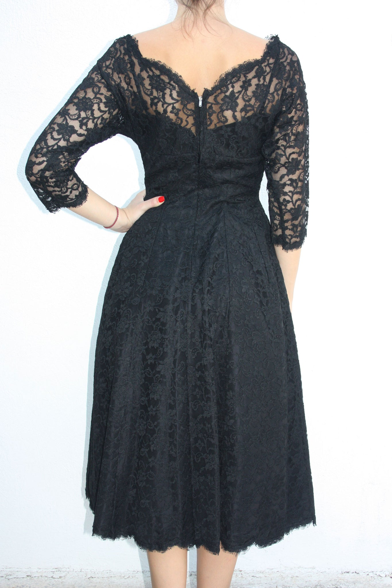 Vintage full swing vintage dress - Shop SoLovesVintage