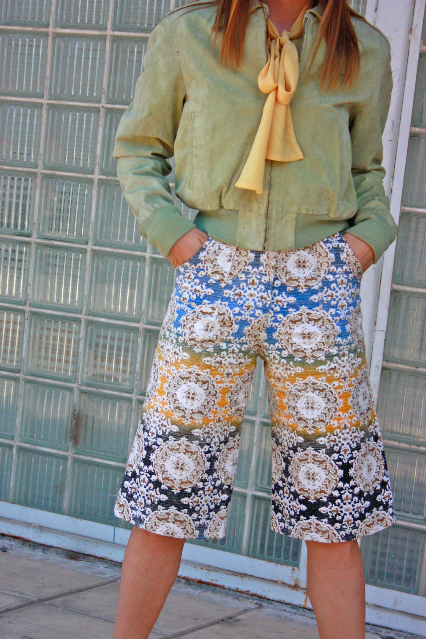 70's fashion culottes - SoLovesVintage